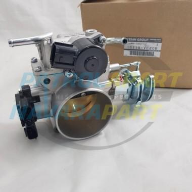 Genuine Nissan Patrol GU Throttle Body Assembly TB48 MANUAL 4.8L