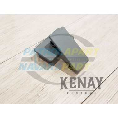 Switch Blank Plate for Dash / Sunglass Switch Panel by Kenay Kustons for Nissan Patrol GU Colour K