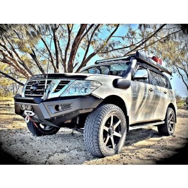 Dash Offroad Predator Bar suit Nissan Patrol Y62 Smooth Satin Black