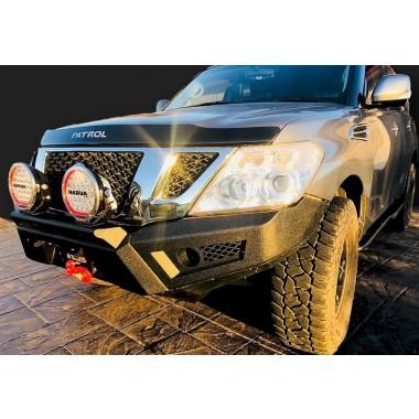 Dash Offroad Predator Bar suit Nissan Patrol Y62 Textured Black