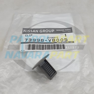 Genuine Nissan Patrol GU Roof Lining Trim Clip Colour K