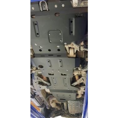 Underbody Protection / Bash Plates 4 Piece for Nissan Patrol Y62