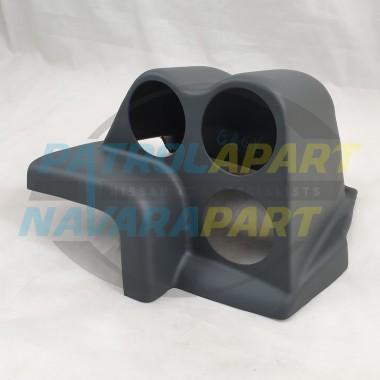 Dash Pod suit 3 52mm Gauges for Nissan Patrol GQ Y60 Painted Grey K
