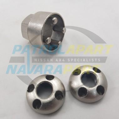 STEDI M10 Lock Nuts & Key Tool for Spot Lights Like Hella Narva