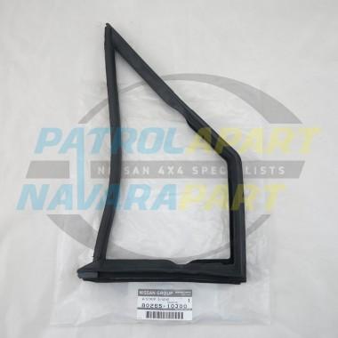 Genuine Nissan Patrol GQ Y60 LHF Window Rubber suit 1/4 Vent Window