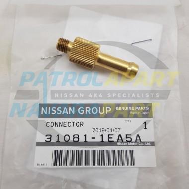 Genuine Nissan Patrol Y62 D23 NP300 Navara RE7 Dipstick Fill Connector