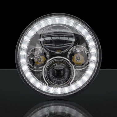 STEDI 7 INCH IRIS LED HEADLIGHT suit Nissan Patrol GQ (EACH)