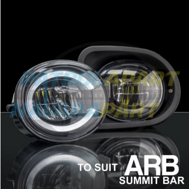 STEDI LED Fog light with Daytime Running Lamp Upgrade for ARB Summit Bar