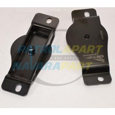 Blackhawk 4x4 Rear Bump Stop Plates for Nissan Patrol GQ / GU
