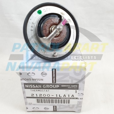 Genuine Nissan Patrol Y62 VK56 Thermostat 82 Degree