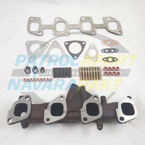 Nissan Patrol GU Y61 ZD30 C/O Exhaust Manifold kit Gaskets Studs Nuts