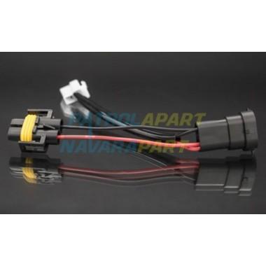 STEDI Piggy Back Adaptor Wiring Loom H9 H11 For Nissan Patrol Y62