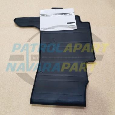 Genuine Nissan Patrol Y62 Rear Heavy Duty Rubber Floor Mat Full Width