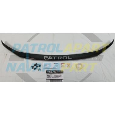 Just Released! Genuine Nissan Patrol Y62 VK56 Smoked Bonnet Protector Series 5