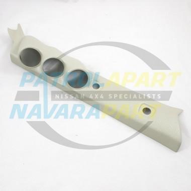 PATROLAPART Triple 3 Gauge Pillar Pod for Nissan Patrol GU Y61 Colour G