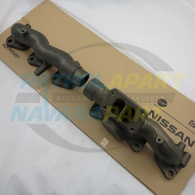 TD42 Turbo Manifold Low Mount Nissan Patrol GU Y61 Genuine