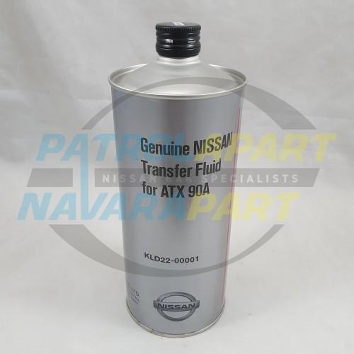 Genuine Nissan Patrol Y62 VK56 Transfer Case Oil 1 Litre Container ATX 90A