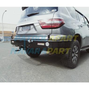 Nissan Patrol Y62 Kaymar Rear Bar with Twin Pivots TI & Ti-L Series 5