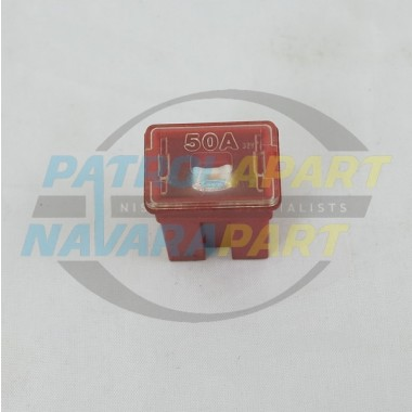 Nissan Patrol GU 50Amp Push in Red Fuse S/H