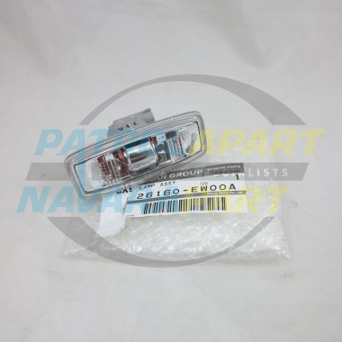 Genuine Nissan GU Patrol Y61 Series 4 Clear Indicator Repeater in Guard