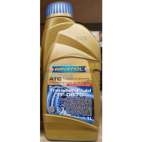 Transfer Case Synthetic Oil 1 Litre Container for Nissan Patrol Y62 VK56