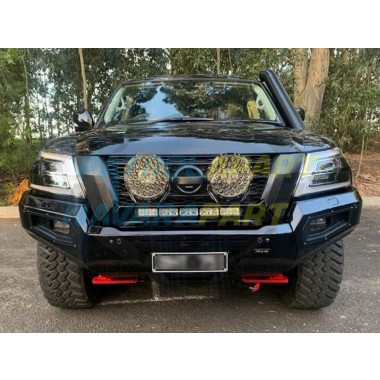 Dash Offroad Predator Bar suit Nissan Patrol Y62 Textured Black Series 5