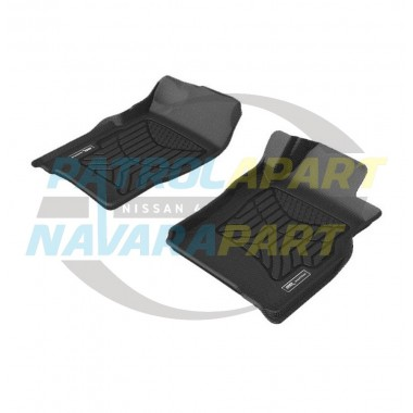 TruFit 3D Rubber Floor Mats MAXTRAC for Nissan Patrol GU Ute & Wagon Front Row