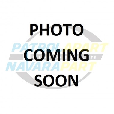 Genuine Nissan Patrol GQ Chrome Bar End Right Side 10/1991 on