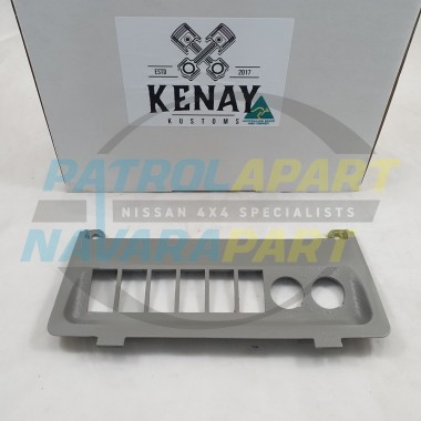 Kenay Kustom Dash Lower Switch Panel for Nissan Patrol GU Y61 Colour Code W