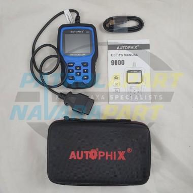 Autophix 9000 Premium OBDII Universal Code Reader / Scanner Tool
