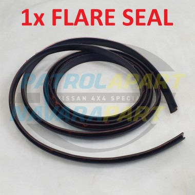Flare Seal Rubber Mould with Tape 2m suits Nissan Patrol GQ Y60 & GU Y61 Y62