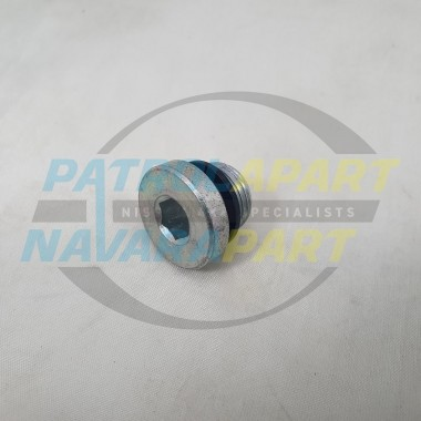 Plug for Nissan Patrol GU TD42T Lower Thermostat Housing suit Nissan Patrol GQ TD42 N/A