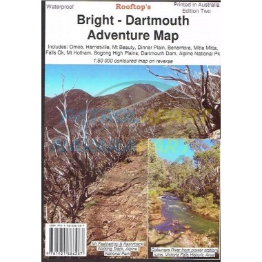Map Bright - Dartmouth Rooftop Adventure Map Waterproof Edition 2