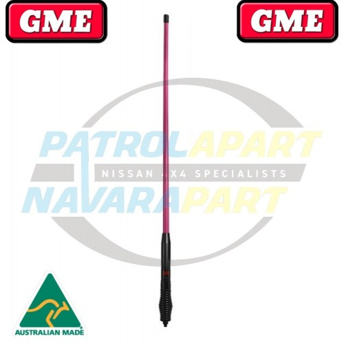 GME McGrath Foundation 1200mm 6.6DBI GAIN Pink Antenna AE4700 Series