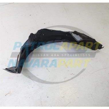 Genuine Nissan Patrol Y62 Right Hand Front Plastic Inner Guard Liner S1-5
