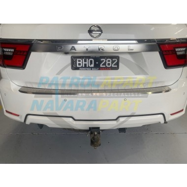 Rear Bumper Scuff Plate Protector for Nissan Patrol Y62 Series 5