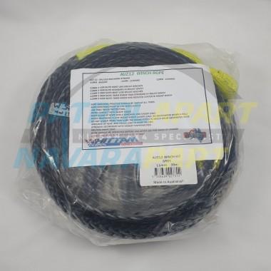 AUZ12 Winch Rope 11mmx35m suit Warn M8274 High Mount STD drum