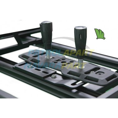 Wedgetail Roof Rack Accessory - 4wd Tracks Holder - Flat