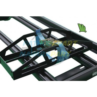 Wedgetail Roof Rack Accessory - Jerry Can Holder in Black