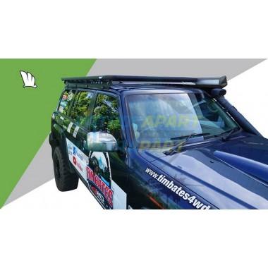Wedgetail Y61 GU Nissan Patrol Roof Platform Flat Rack Tradesman
