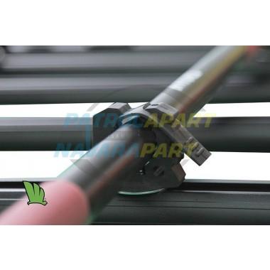 Wedgetail Roof Rack Accessory - Shovel Holder Brackets PAIR