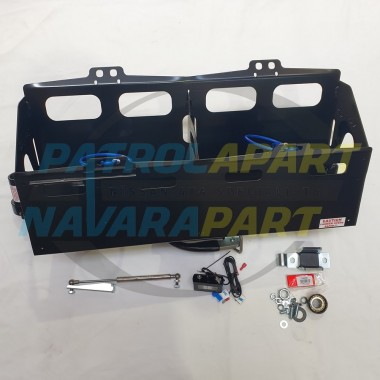 Kaymar Left Hand Side Double Jerry Can Holder for Nissan Patrol Y62 Series 5