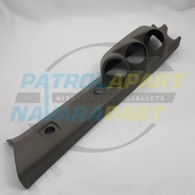 LEFT HAND DRIVE 3 Gauge Pillar Pod for Nissan Patrol GU Y61 Colour Code K