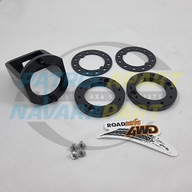 Hub Nut Upgrade Kit with Tool Socket for Nissan Patrol GQ GU