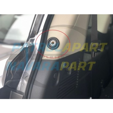 Rear Quarter Air Outlet Bracket Kit with Template for Nissan Patrol Y62