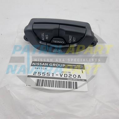 Genuine Nissan Patrol GU Y61 RH Steering Wheel Cruise Control Switch Buttons
