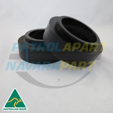 Nissan Patrol GQ GU Rear Coil Spring Spacer Packer 50mm Pair