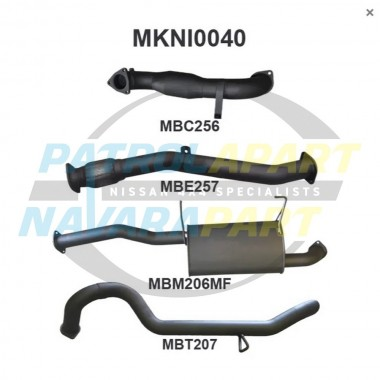 Manta Exhaust for Nissan Patrol Y61 Turbo ZD30 3