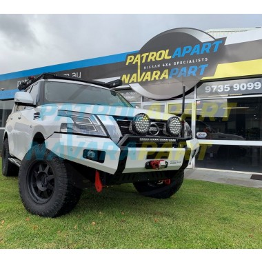 Raslarr Bullbar with Recovery Points for Nissan Patrol Y62 Series 5 Models