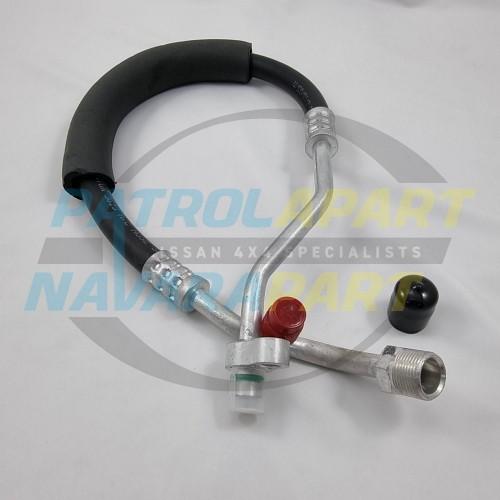 Nissan Patrol GU Y61 TD42TI Air Con Hose Compressor - Rad Support